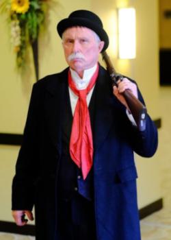 Steve as John Calhoun circa 1859